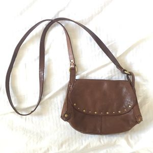 Lucky Brand leather crossbody purse